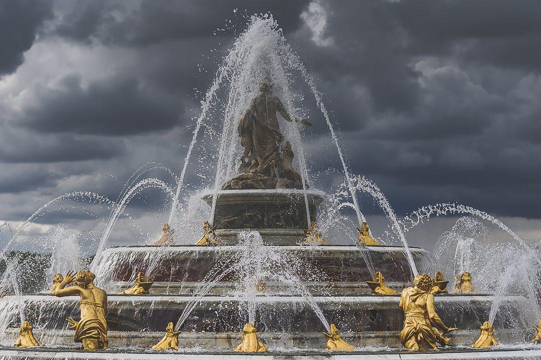 Latonas fountain Versailles