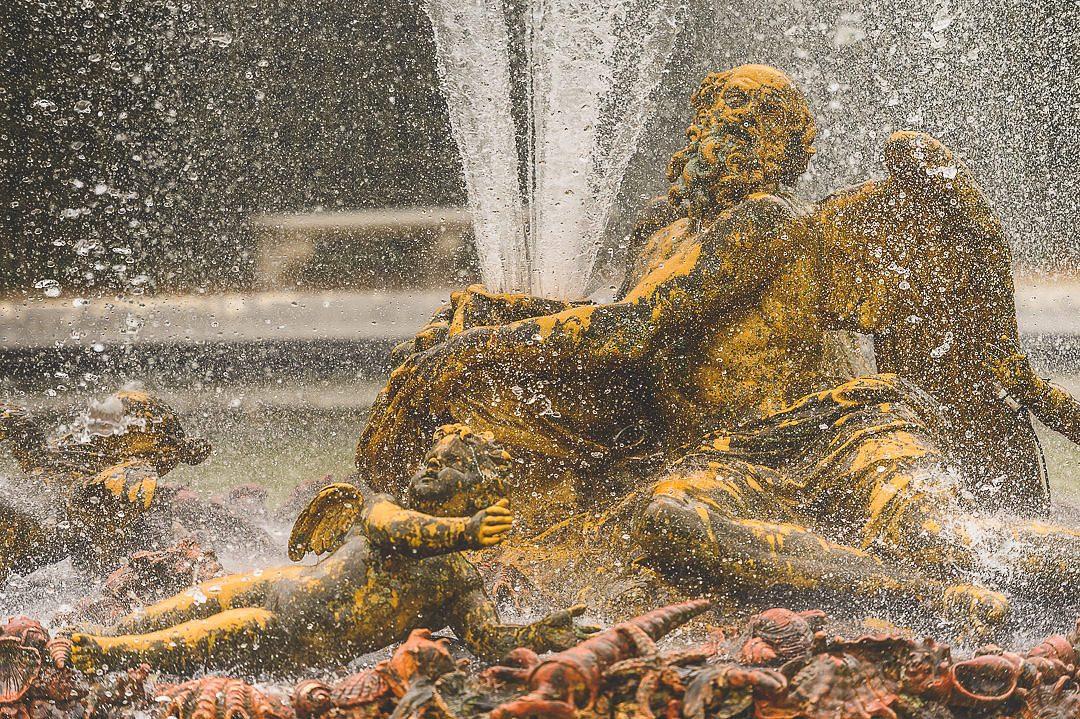 Saturn fountain Versailles