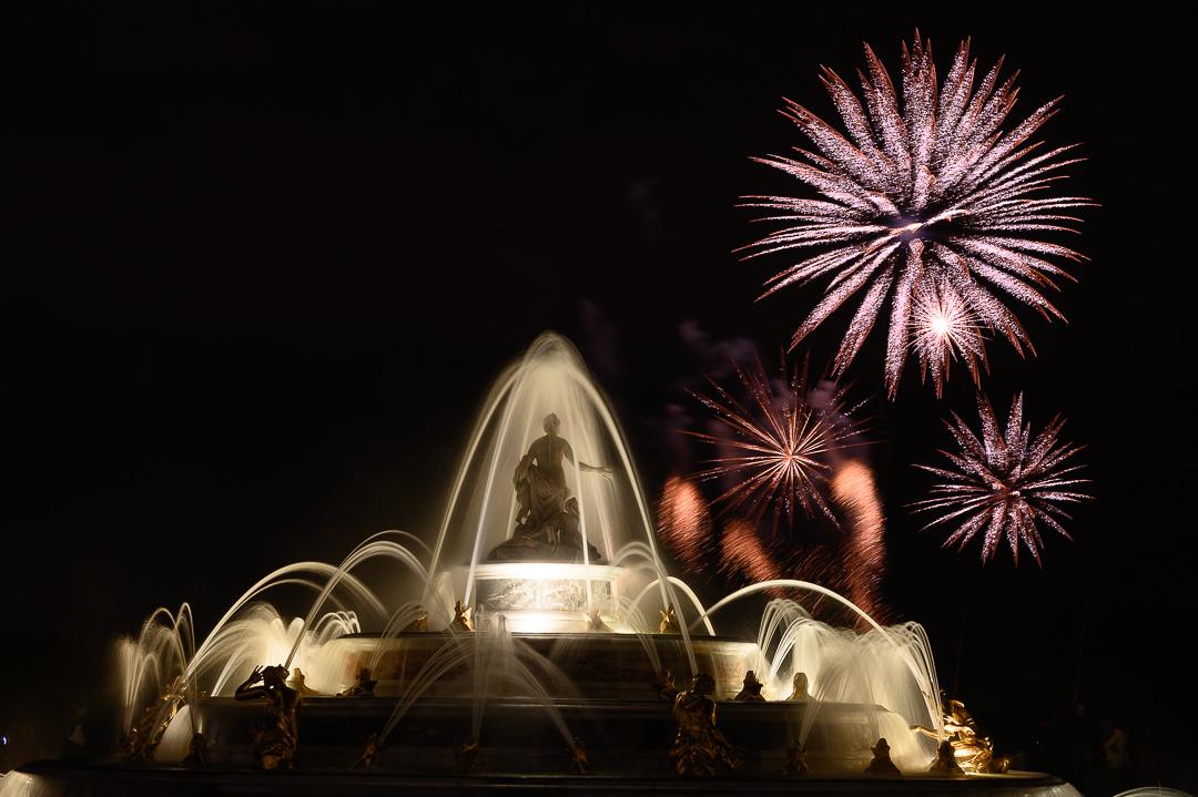 Château de Versailles Night Fountains Show